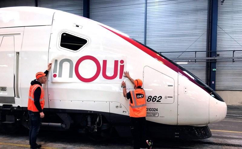 inOui : le changement des trains SCNF c'est pour bientôt ? nouveau nom TGV voyage-sncf devient OUI.sncf TGV devient inOui