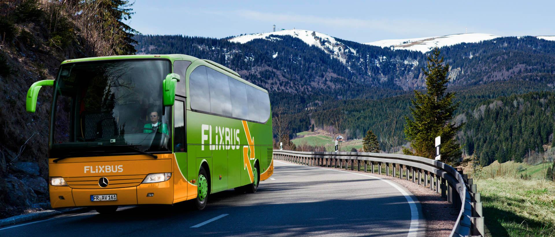 Bus macron voyage Flixbus flexibus