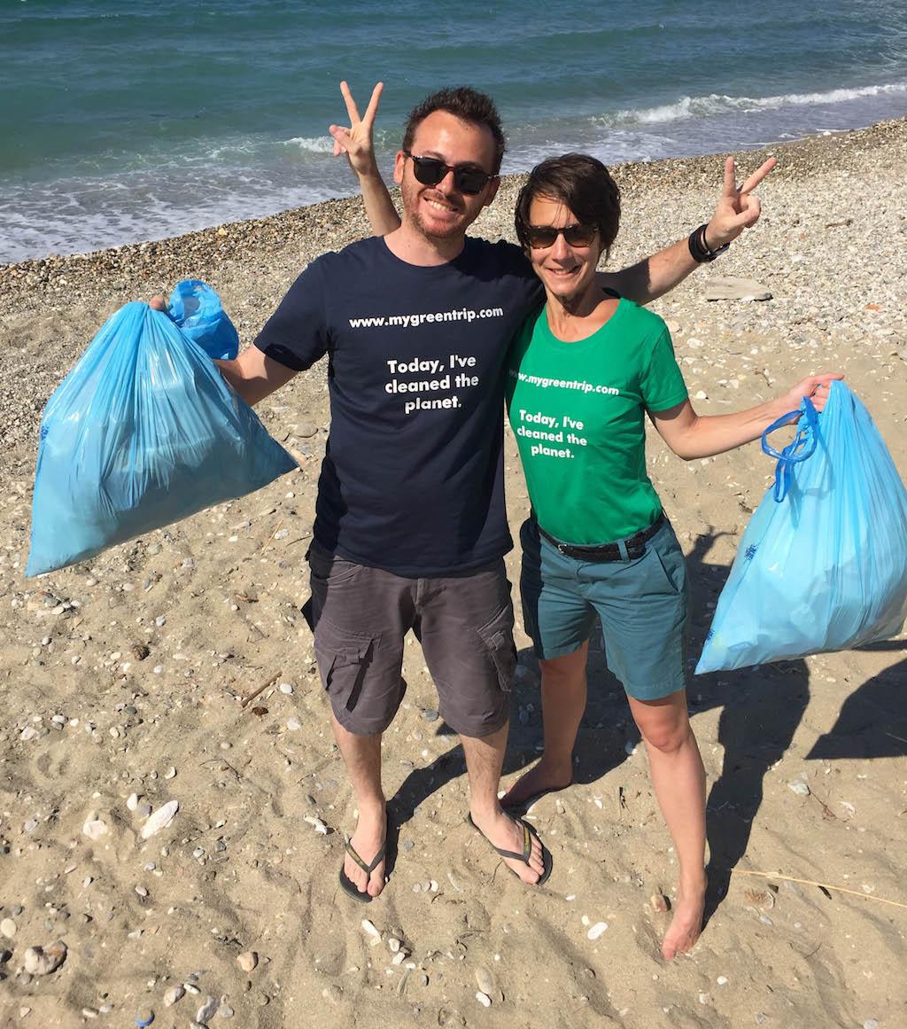 Tourisme durable : les start-ups pour devenir un voyageur responsable My Green Trip Nicolas et Elisabeth co-fondateurs