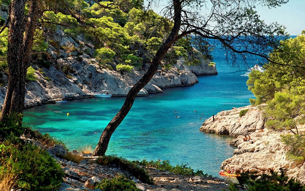 Excursion à Marseille à la découverte des plus belles Calanques Calanque de Marseille paysage magnifique